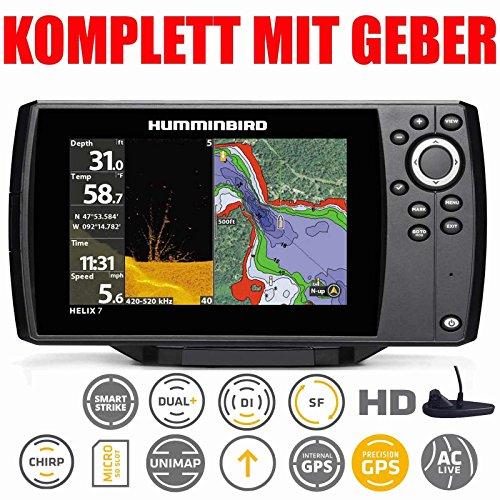 Humminbird Helix 7Chirp GPS di G2Down Imaging Echo Lot Combo montaggio fisso