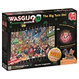 Wasgij Christmas 12 The Big Turn On Jigsaw Puzzle (1000-Piece)