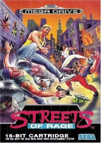 Streets of Rage - SEGA Mega Drive