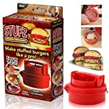 Stufz Stuffed Burger Press Grill BBQ Patty Maker For Hamburger Juicy As Seen On TV by Repasil