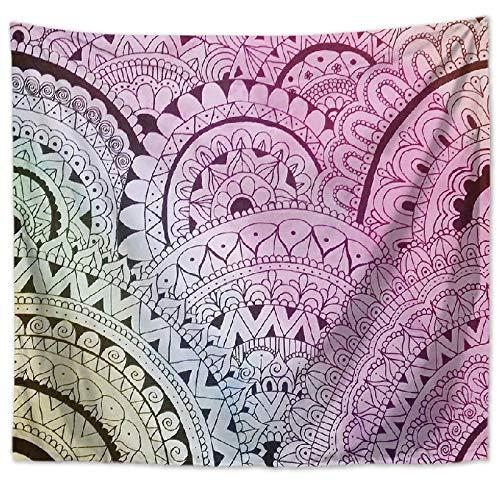 JokerDmask Arazzo da Parete Bohémien Wall Hanging Hippie Tapestry per Il Cuscino del Divano della...