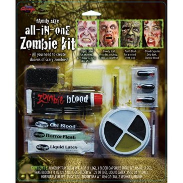 Fun World Fun World Lot de 3 kits de maquillage pour Halloween