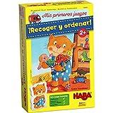 HABA-Mis Mis Primeros Juegos: ¡Recoger Y Ordenar! - ESP, Multicolor (Habermass 304051)