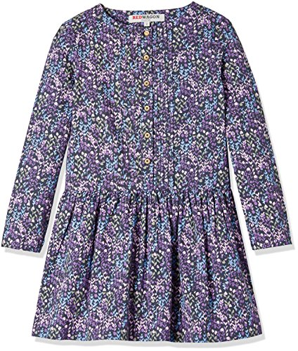 RED WAGON Floral Dress - vestido Niñas, Multicolor (Pink), 5 años