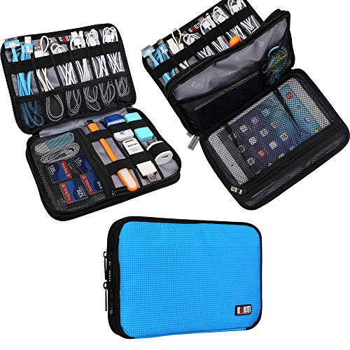 Universal Double Layer Travel Gear Organiser / Custodia da viaggio universale per dispositivi...