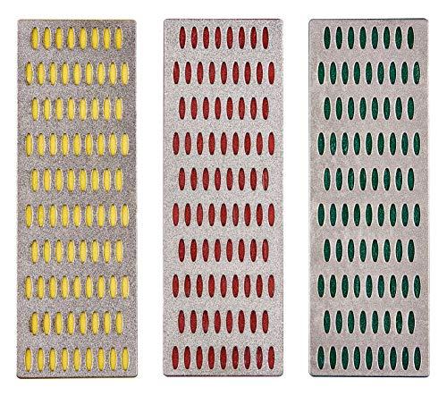 Amtech E2500 Set di Affilatura in Pietra Diamantata fessionale, Multicolore