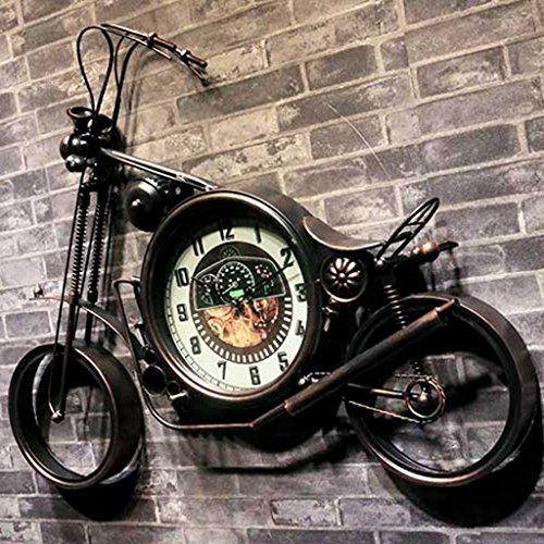Orologio Da Parete Moto Retrò Da Parete Decorazione Da Parete Da Appendere Camera Da Letto/Ristorante/Ristorante/Bar Orologio (Bronzo)