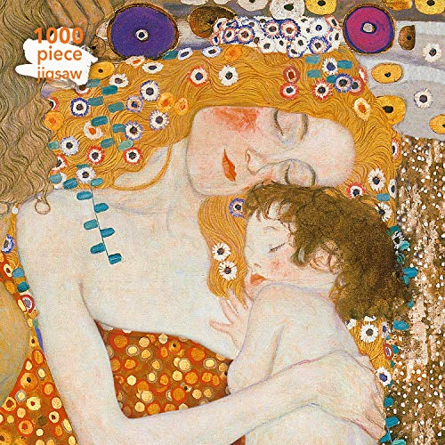 Gustav Klimt - Three Ages of Woman Jigsaw: 1000 Piece Jigsaw Puzzle