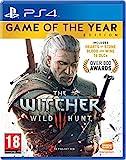 The Witcher 3, Wild Hunt (Bleu/rouge/vert) PS4