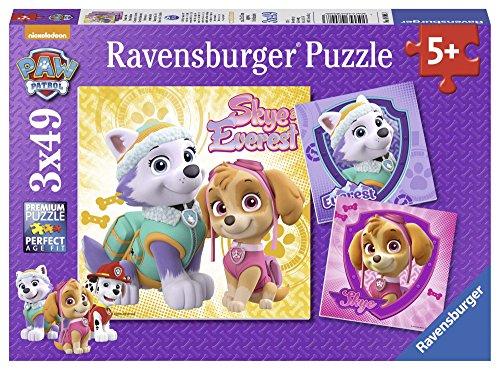 Ravensburger Paw Patrol 3 Puzzle da 49 Pezzi, Multicolore, 0 8008