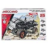 MECCANO 25 Model Set - 4x4 Truck Construction Set - Spinmaster 6028599