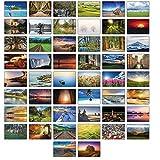 Lot de 50cartes postales avec des paysages différents