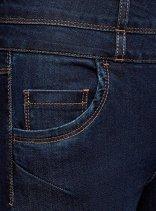 oodji-Ultra-Damen-Jeans-Skinny-mit-Hohem-Bund-Blau-27W-32L-DE36-EU38-S