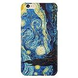 Cover Custodia Protettiva La Notte Stellata Vincent Van Gogh Quadro Arte Dipinto Olanda compatibile con Iphone 4/4S/5/5S/5SE/5C/6/6S/6plus/6s plus Samsung S3/S3neo/S4/S4mini/S5/S5mini/S6/note