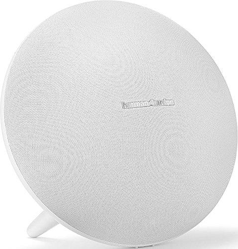 Harman Kardon Onyx Studio 4 - Altavoz portátil (60 W, 50-20000 Hz, Bluetooth 4.2, A2DP, AVRCP, HFP), Color Blanco