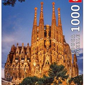 Educa Borras - Serie World Heritage, Puzzle 1.000 piezas, Sagrada Familia, Barcelona (17097)