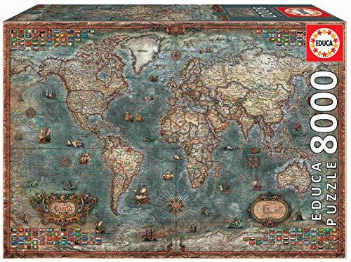 Educa Borras Puzzle, Colore Vario, 18017