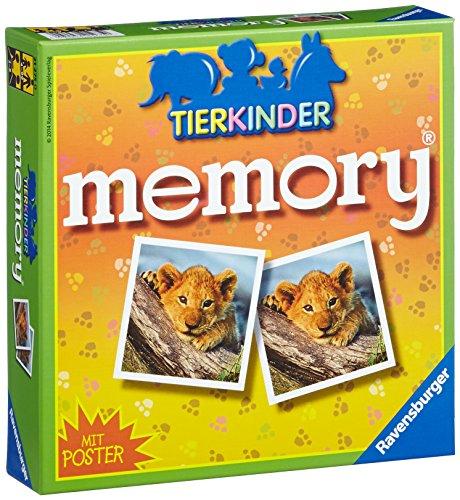 Ravensburger 21275 - Juego de memoria, diseño de animales (en alemán) [Importado de Alemania]