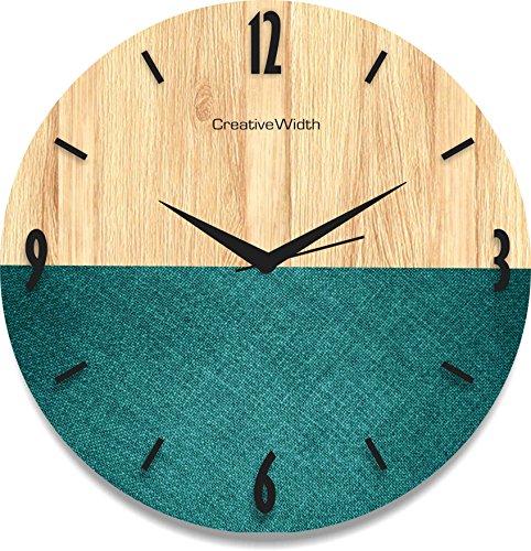 Creative Width CWCLK632 Ocean Magic Texture Wall Clock (Multicolor)