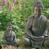 decodificación de Buda, Figura de Buda, Buda sentado Aprox. 40 cm alto 5