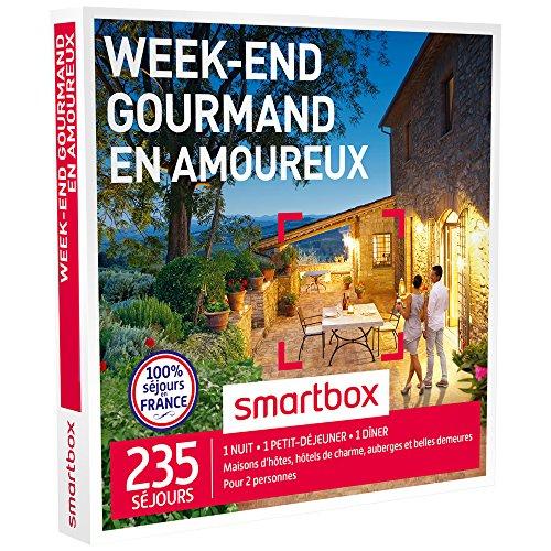 smartbox coffret cadeau week end gourmand en amoureux 235 s jours maisons d 39 h tes. Black Bedroom Furniture Sets. Home Design Ideas