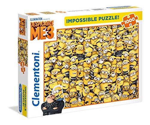 Clementoni - 39408 - Impossible Puzzle - Despicable Me 3 - 1000 Pezzi