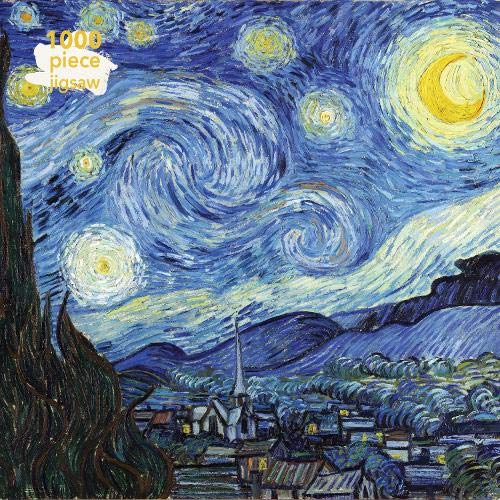 Van Gogh - Starry Night Jigsaw: 1000 Piece Jigsaw Puzzle