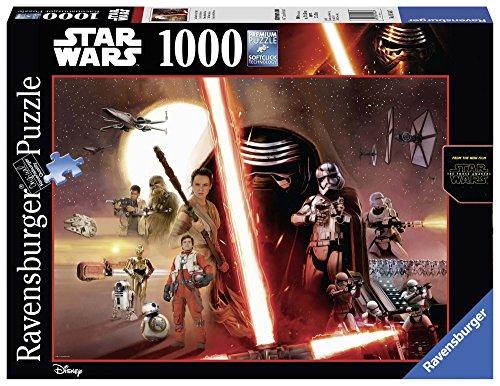 Ravensburger 19549 - Star Wars Puzzle, 1000 Pezzi