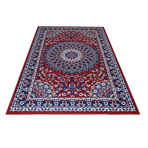 WEBTAPPETI.IT Tappeto Motivo Classico Persiano - Tappeto Economico Rosso Royal Shiraz 2082-RED...