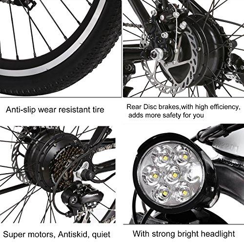 ancheer v lo electrique montagne e bike 250w grande vitesse motor e bike avec batterie. Black Bedroom Furniture Sets. Home Design Ideas