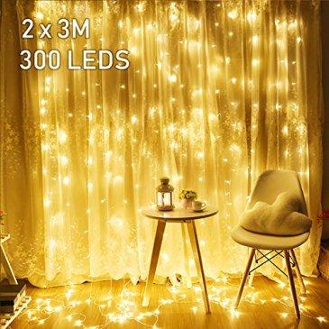 Avoalre Guirlande Lumineuse Exterieur 100 M / 500 LED Guirlandes Lumineuses Electrique Interieure 8 Modes Décoration Fête Noël, Anniversaire