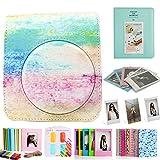 CAIUL 8 dans 1 Accessoires Set pour Mini 70 Appareil Photo avec Housse, Album, Filtres, Cadres et d'autres Accessoires (Rainbow Mist)