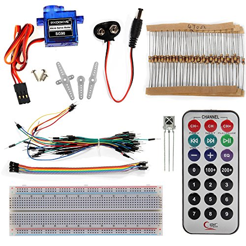 61HQLVuY46L - Kit de aprendizaje para programar KOOKYE para Arduino, Raspberry Pi none UNO R3 Starter kit for Arduino