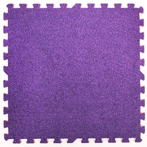 Materassino ad incastro in schiuma ad effetto tappeto - Perfetto per la protezione del pavimento, in...