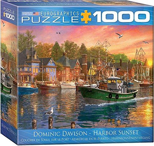 Eurographics 8000-0969Harbour Sunset puzzle (pezzi)