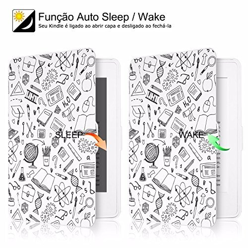 MOCA Paperwhite 1 2 3 PU Leather with Auto Wake/Sleep Flip Case Cover for Amazon Kindle 6-inch Display 3  MOCA Paperwhite 1 2 3 PU Leather with Auto Wake/Sleep Flip Case Cover for Amazon Kindle 6-inch Display 61IBoEM0bkL