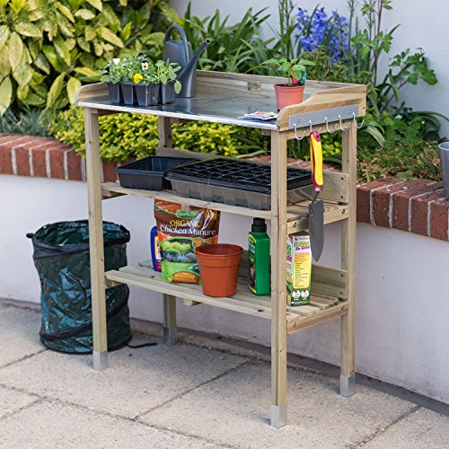 Swell Top 5 Best Potting Benches Wood Vs Metal And Our Top Picks Interior Design Ideas Grebswwsoteloinfo