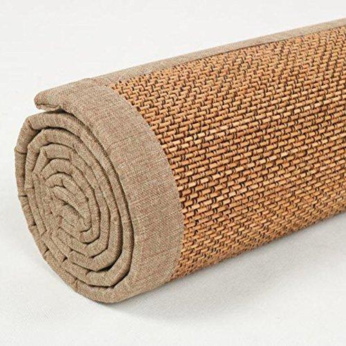 KAHDGYADQF Stuoia di bambù/Soggiorno Camera da Letto Bamboo Tappeto Custom Tatami Float Finestra...