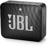 JBL GO 2 Speaker Bluetooth Portatile, Cassa Altoparlante Waterproof IPX7 con Microfono, Funzione di Noise Cancelling, fino a 5 h di Autonomia, Nero