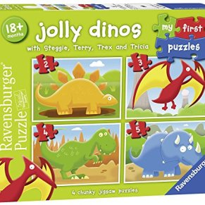 Ravensburger - My First Puzzle, Dinosaurios (07289)