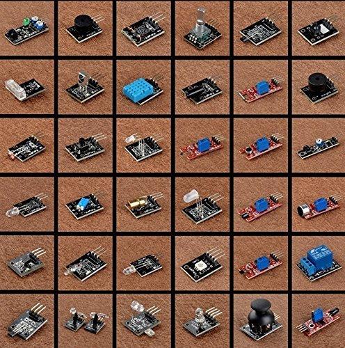 61Mc0hWfU7L - 37 en 1 Módulo Sensor Proyectos para Arduino Raspberry Pi 4 3B+ model B+ B A A+ Starter Kit K5