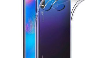 aa0a2472e67 AICEK Funda Huawei P30 Lite, Transparente Silicona Fundas para Huawei P30  Lite Carcasa Silicona Funda