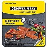 Conower Jerky Turkey Jerky, 25g Beutel , Süß-Sauer (5er Pack)