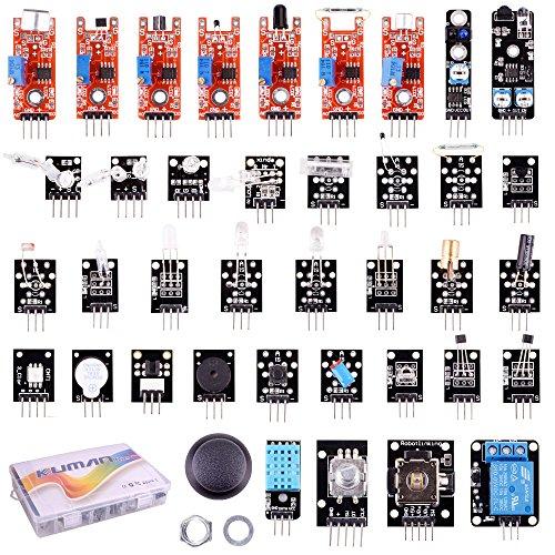 61O83kR%2BJHL - 37 en 1 Módulo Sensor Proyectos para Arduino Raspberry Pi 4 3B+ model B+ B A A+ Starter Kit K5