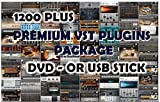 PREMIUM VST AND VSTI PLUGIN PACKAGE FAST DELIVER USB STICK ( WINDOWS )