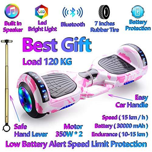 Xiaochao Elettrico Intelligente autobilanciante Scooter Hoverboard, Bluetooth Incorporato...