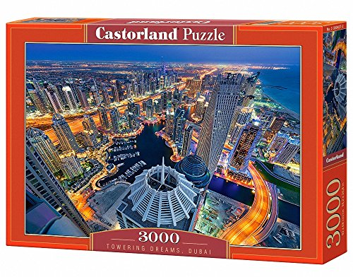 Castor Paese C di 300457–2–Puzzle Towering Dreams, Dubai, 3000Pezzi