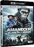 El Amanecer Del Planeta De Los Simios  (4K Ultra HD + Blu-ray) [Blu-ray]
