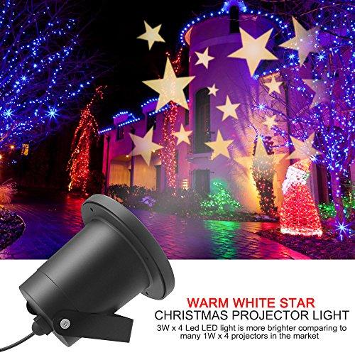 Aliensx christmas light stars projector ip65 waterproof warm white aliensx christmas light stars projector ip65 waterproof warm aloadofball Image collections
