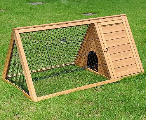 EUGAD 0039HT Gabbia per Conigli Criceto Conigliera da Esterno Giardino Casa per Piccoli Animali in...